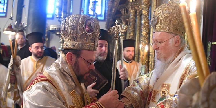 Патриарх Варфоломей возглавил хиротонию нового митрополита Швейцарского / sedmitza.ru