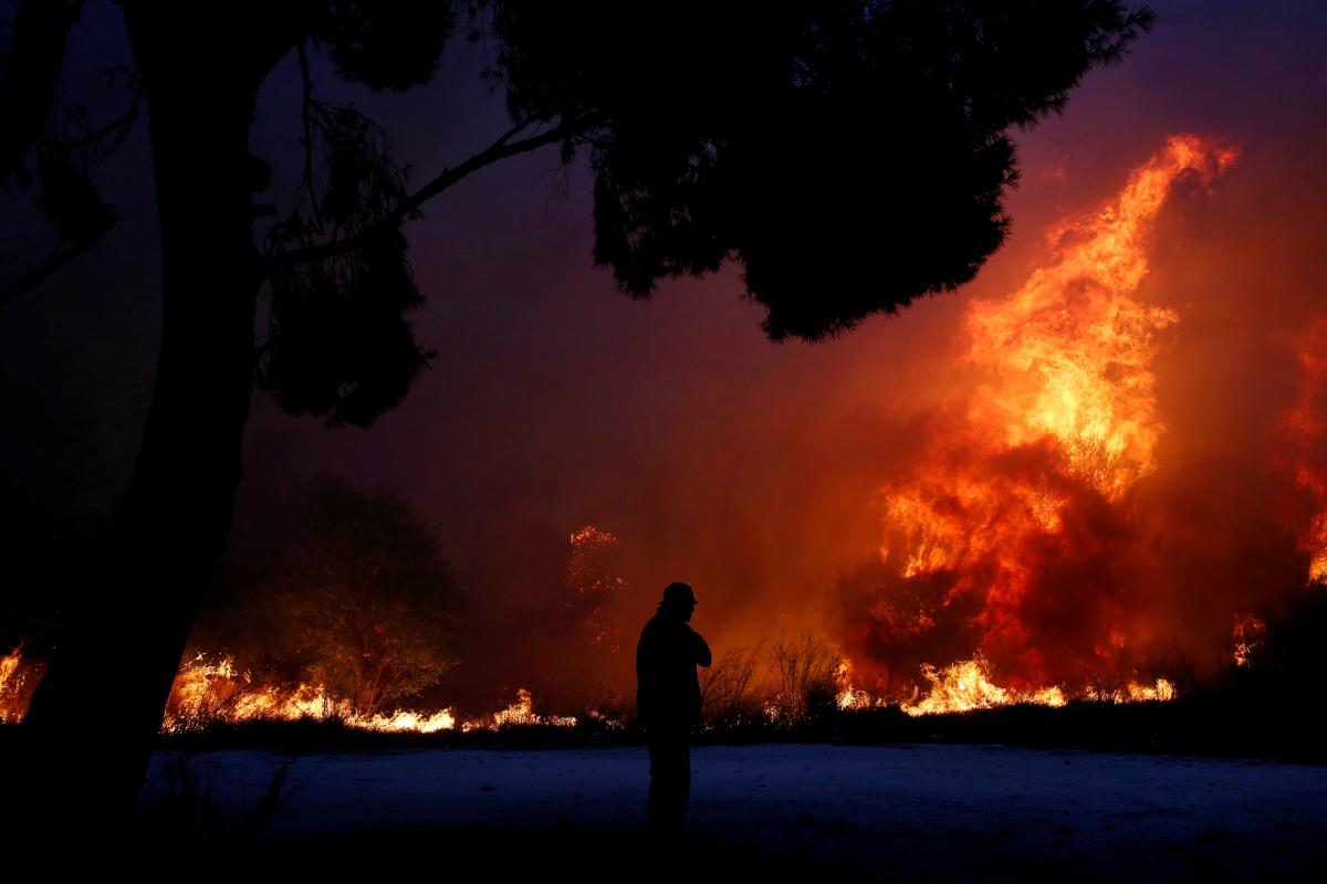 Arson Suspected in Deadly Greece Wildfires