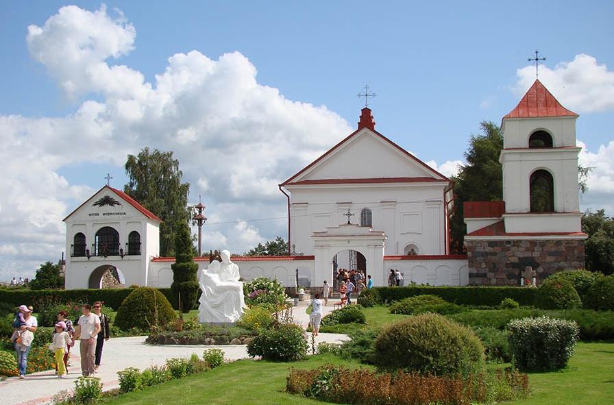 Костел святой Анны в Мосаре/ sputnik.by