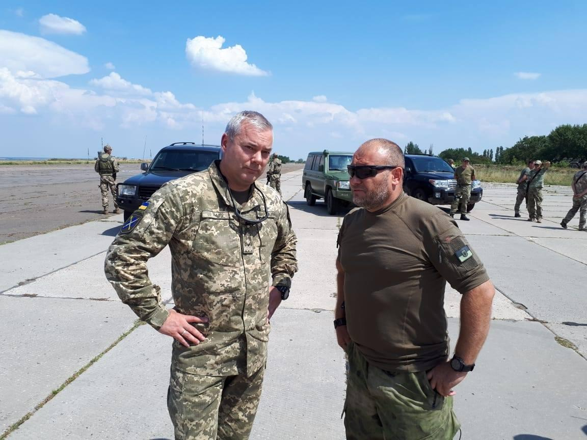 Nayev (left) and Yarosh (right) / Photo from facebook.com/pressjfo.news