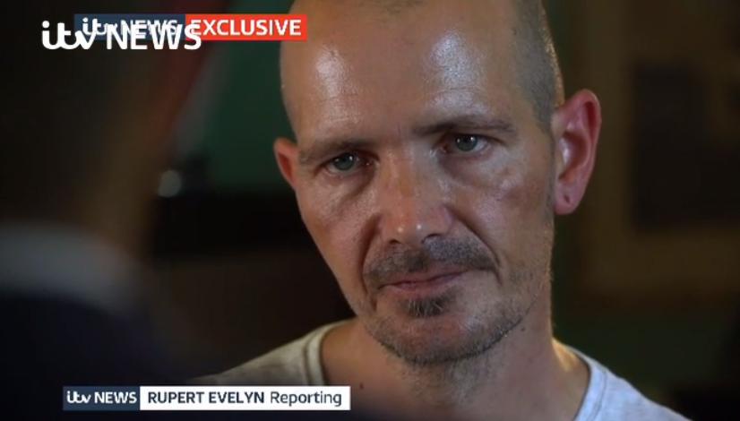 """По словам Роули, российский посол выглядел """"искренне обеспокоенным""""/ скриншот ITV"""