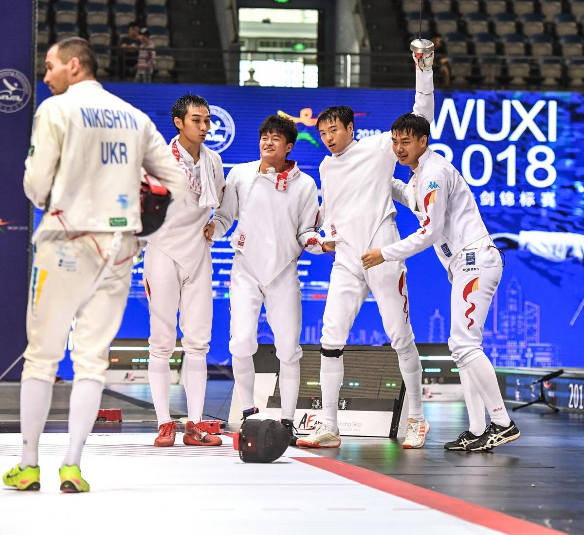 Нікішин і його партнери по команді програли збірній Китаю / prosportua.com