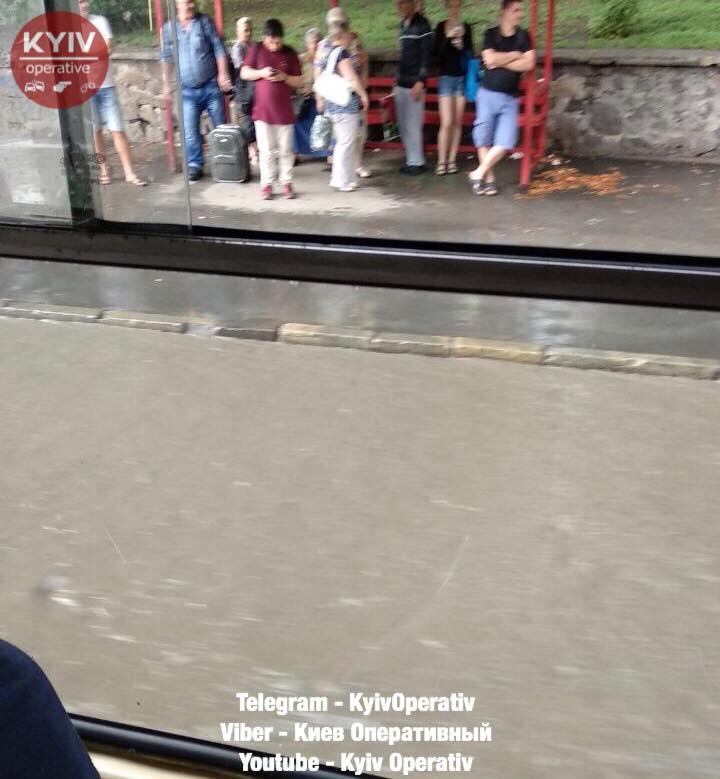 Потоп на Глибочицькій / фото facebook.com/KyivOperativ