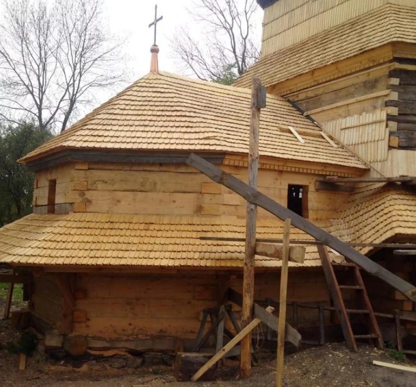 Храм Параскеви до реставрації / zaxid.net