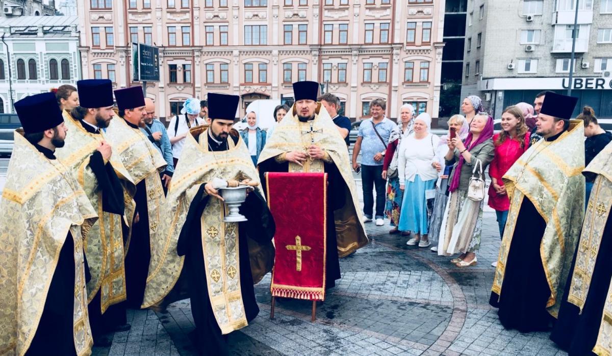 В Киев прибыла икона апостола Андрея Первозванного / news.church.ua