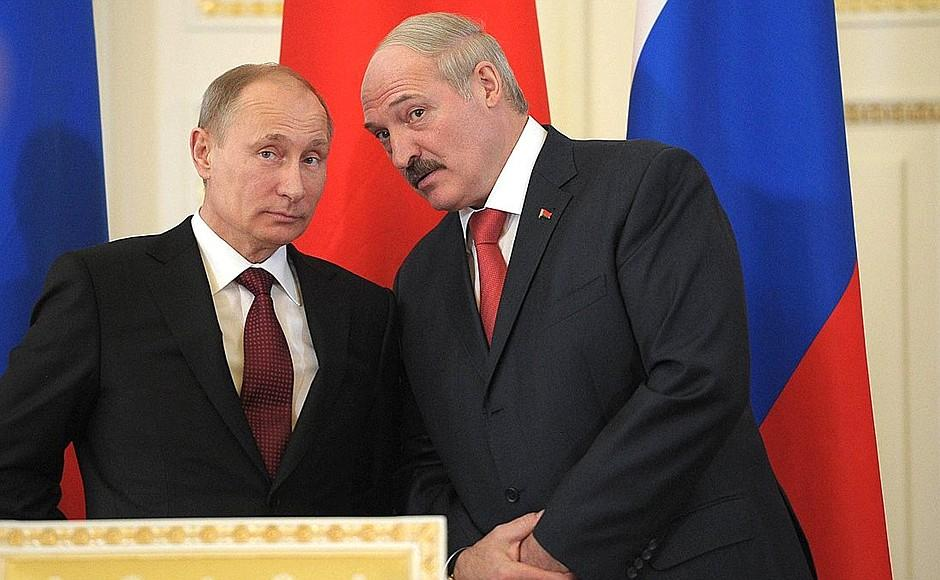 Лукашенко вибачився перед Путіним / kremlin.ru