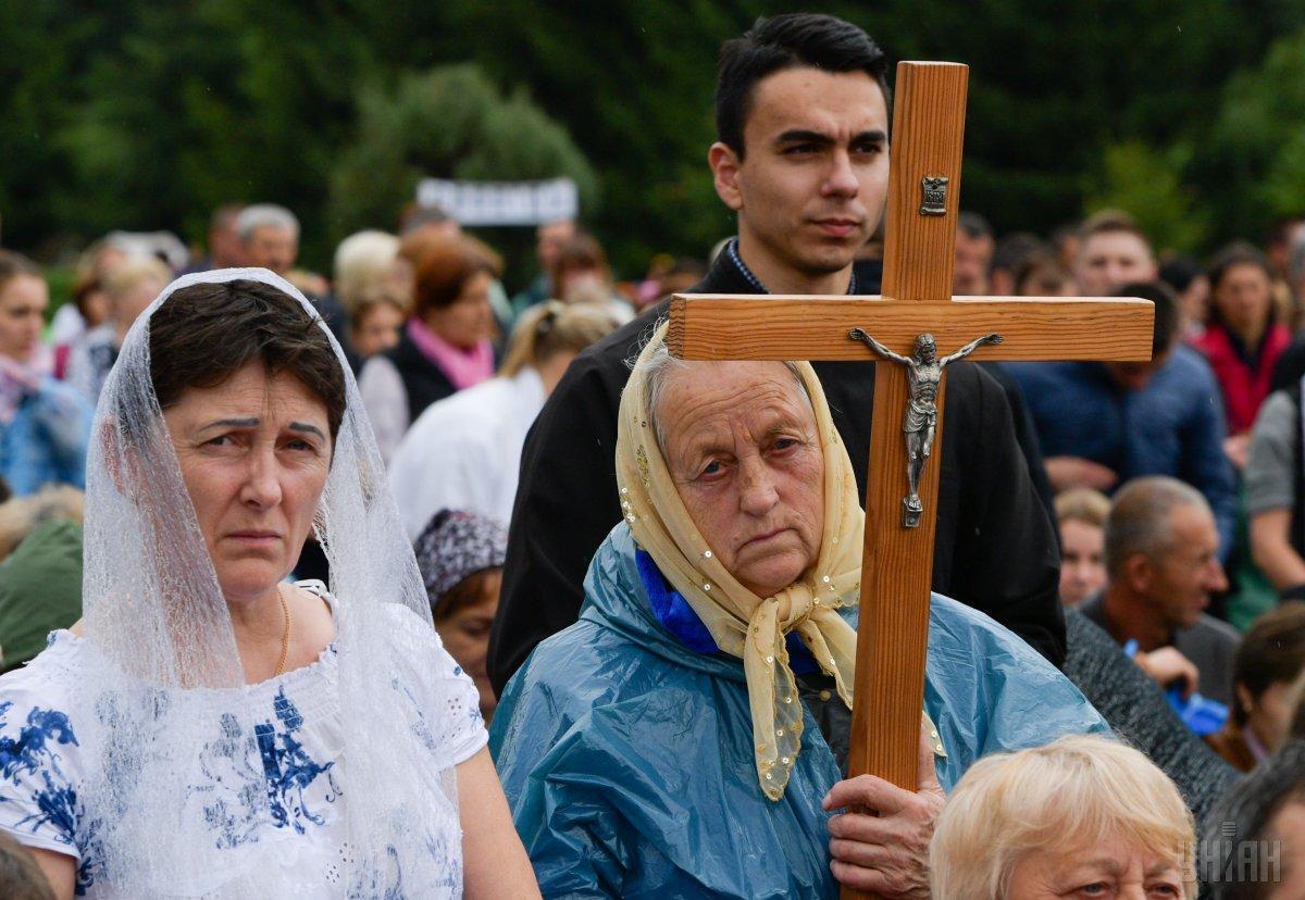 Конституция гарантирует каждому украинцу право на свободу мировоззрения и вероисповедания / Фото УНИАН