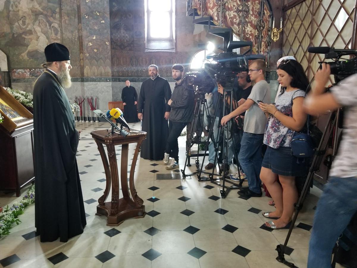 До Києва прибули 8 святинь, з якими 27 липня відбудеться Хресний хід/ Фото: Центр інформації УПЦ