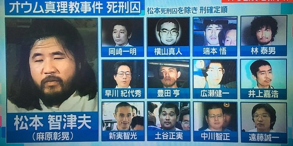 Японська влада підтвердиластрату шести членів екстремістської секти «Аум Сінрікьо» / sora-ten.com