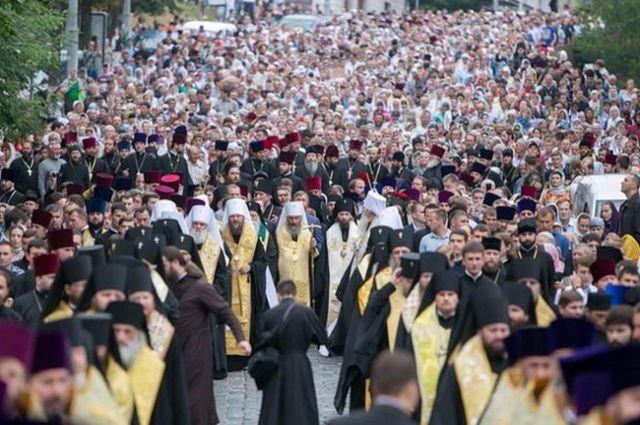 За декілька годин на Володимирській гірці розпочнуться урочистості / news.church.ua