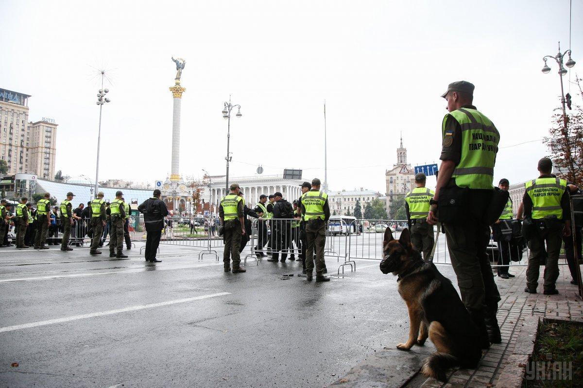 Во время крестного хода правопорядок обеспечивают около 5 тысяч правоохранителей / фото УНИАН