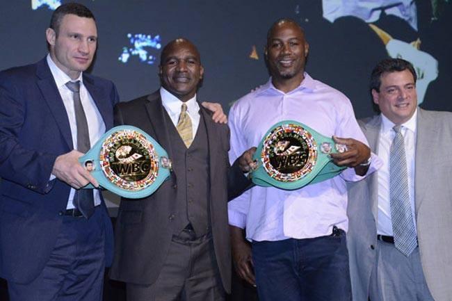 Холіфілд приїде в Київ на конгрес WBC / klitschko-brothers.com