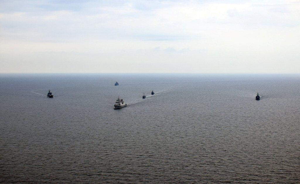В ходе учений проводится проверка готовности сил и войск к отражению возможной российской агрессии/ navy.mil.gov.ua