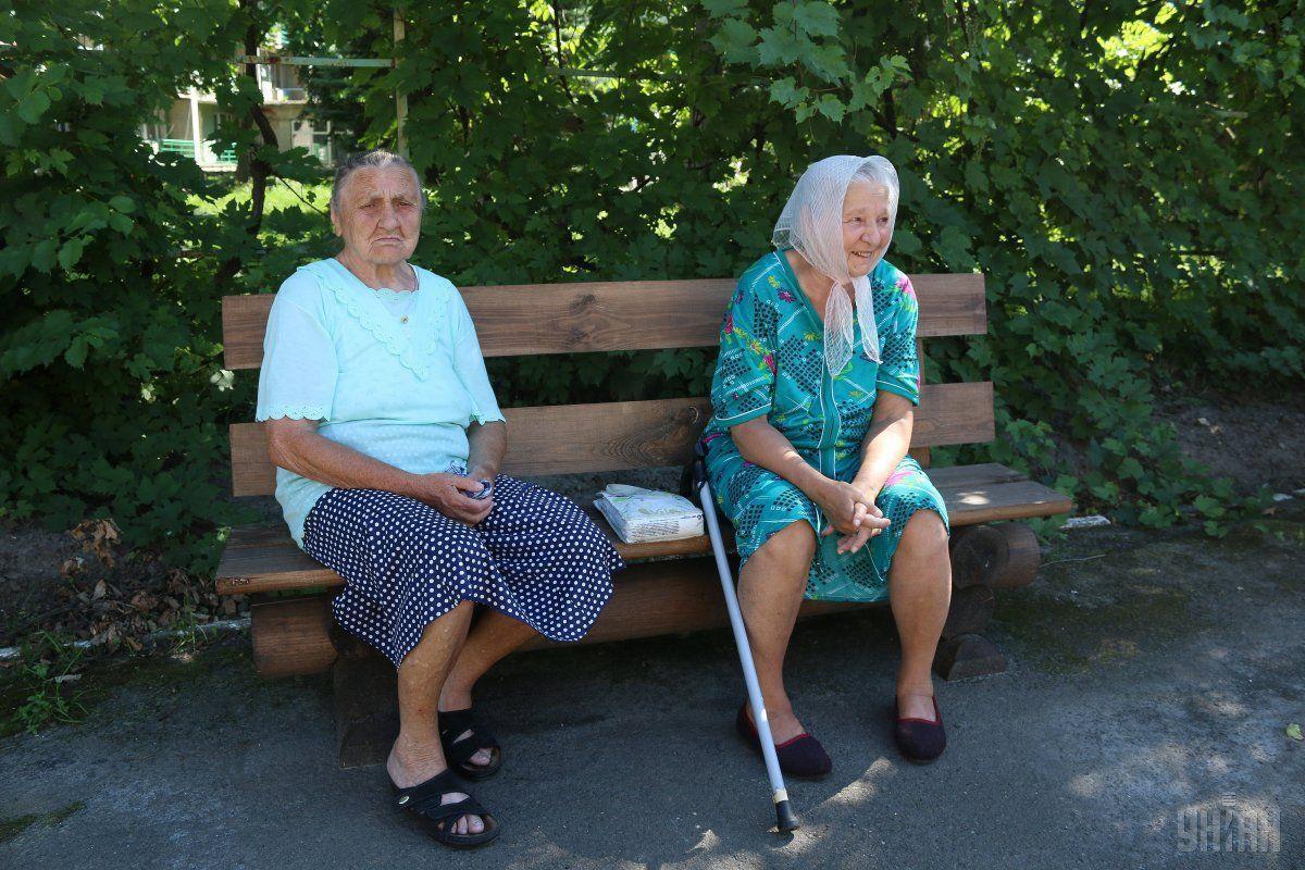 Средняя пенсия по Украине - от 2001 до 3000 грн. Именно такую сумму получают 38,3% пенсионеров / фото УНИАН, Владимир Гонтарь