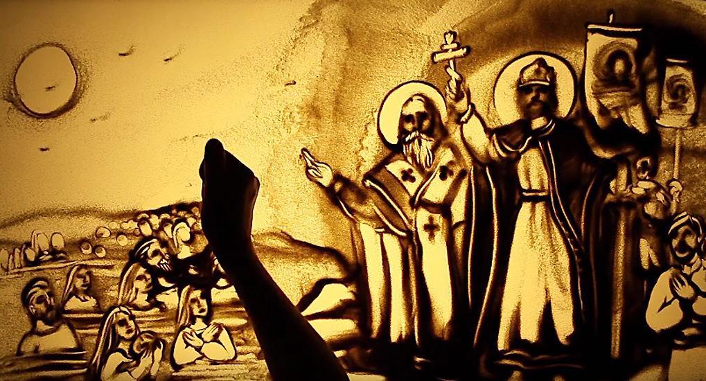 Ксенія Симонова створила відеолистівку до 1030-річчя Хрещення Русі / simonova.tv
