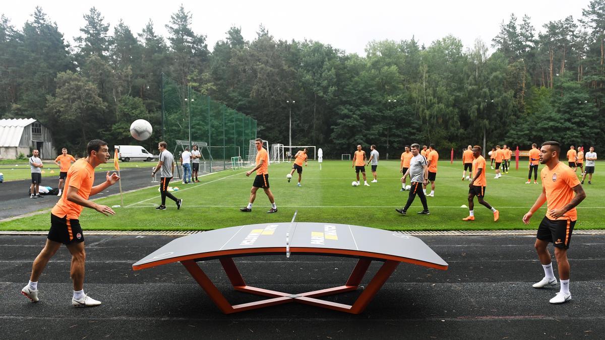 """Гравці """"Шахтаря"""" будуть покращувати навички за допомогою нового виду спорту / shakhtar.com"""