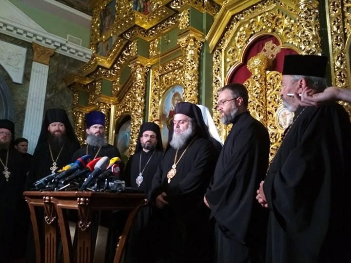 Представители 12 Православных Поместных Церквей приняли участие в торжествах в честь 1030-летия Крещения Руси / Фото: Центр информации УПЦ