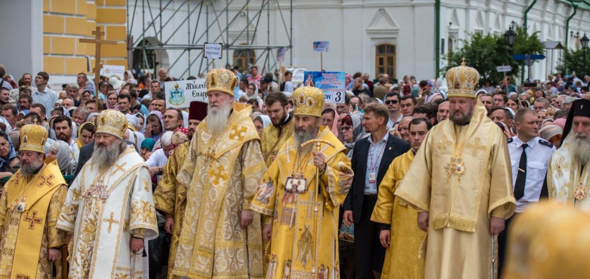 За богослужінням молиласьвелика кількість прочан / news.church.ua