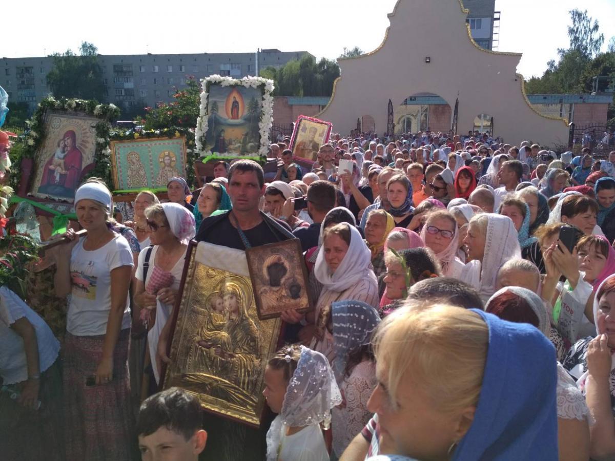 Международный крестный ход прибыл в Ковель / епархия.укр
