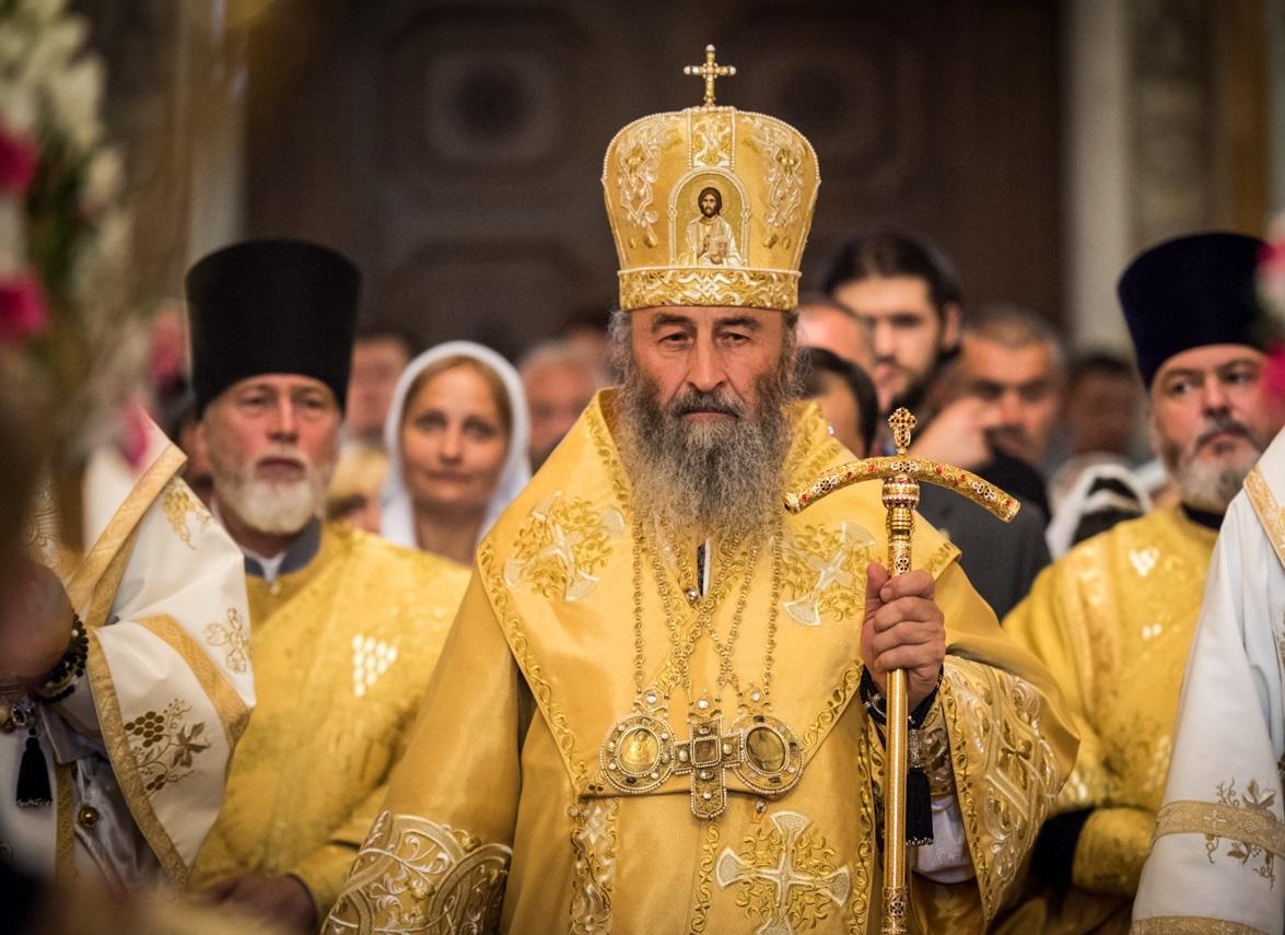 Предстоятель УПЦ очолив богослужіння у Києво-Печерській лаврі / news.church.ua