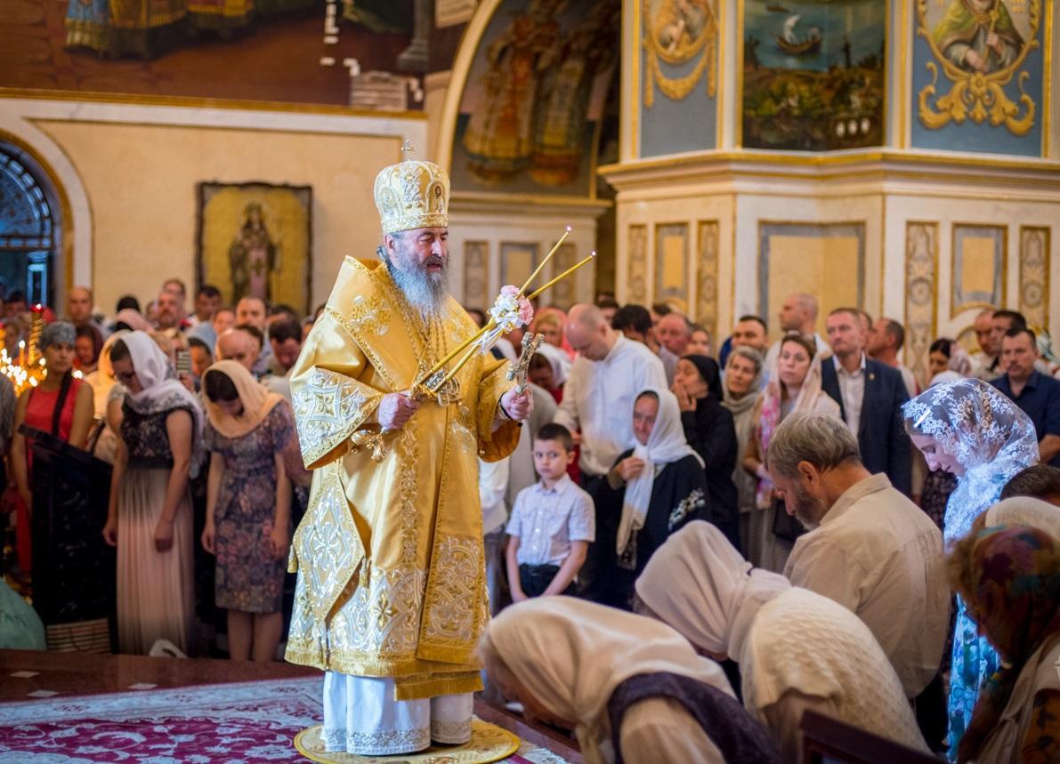 Предстоятель УПЦ очолив Літургію у Києво-Печерській лаврі / news.church.ua