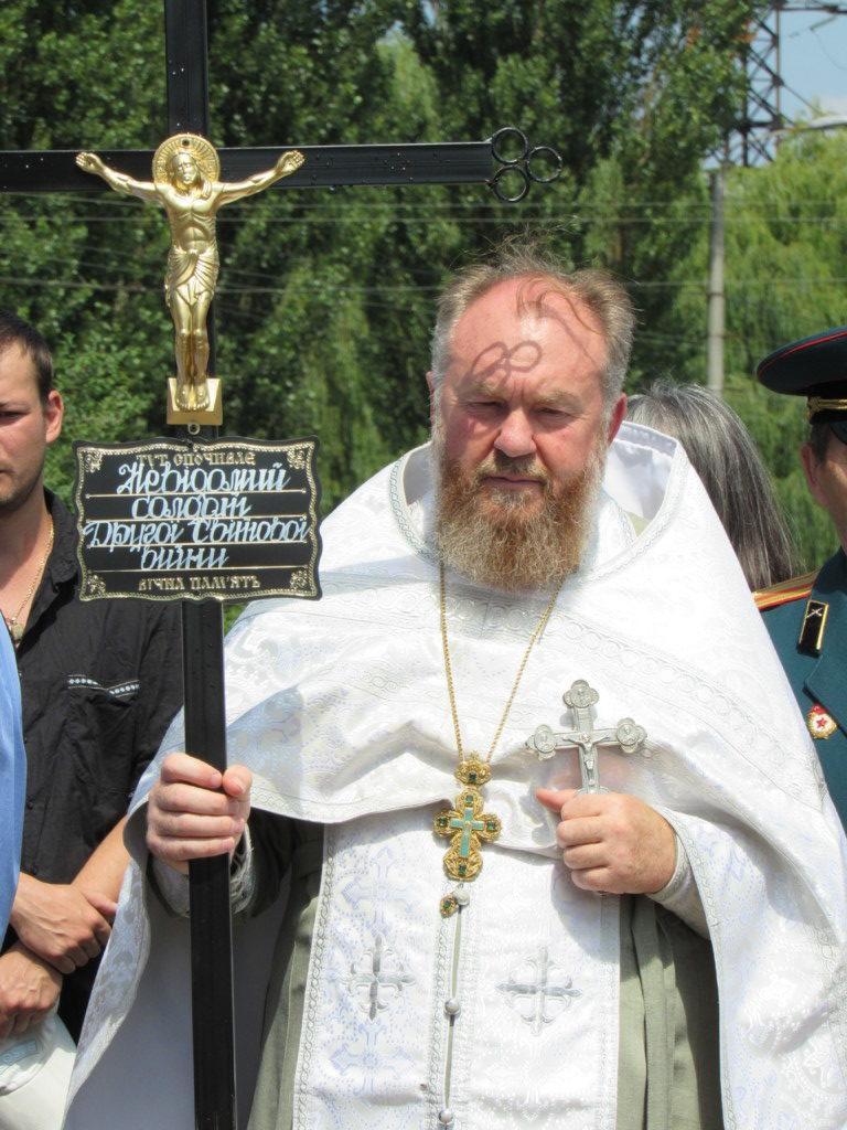 Священнослужителі провели поминальну панахиду та відспівали невідомого солдата / volyn.church.ua