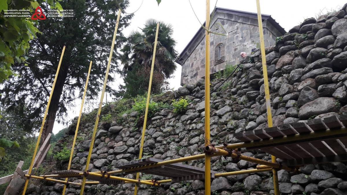 Церква побудована на рубежі 13-14 століть / Національне агентство захисту культурної спадщини Грузії