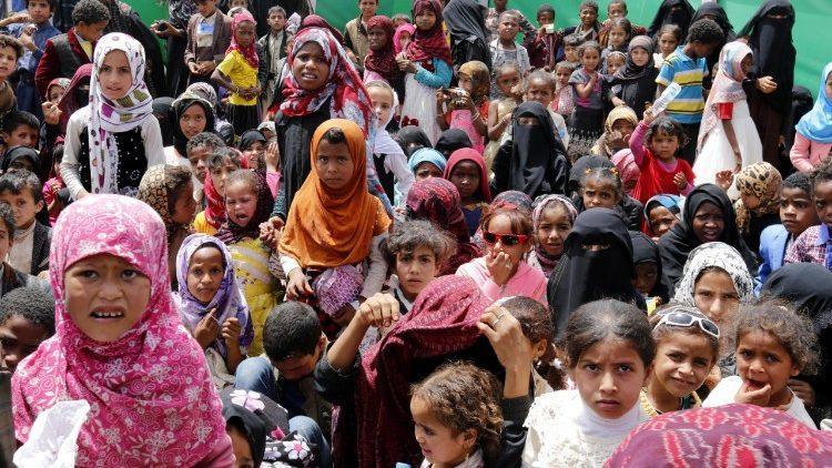Йеменские беженцы / ANSA