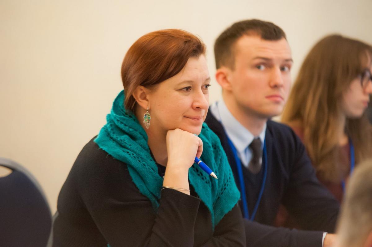 Седова считает, что украинский контент должен идти на русском языке с вкраплениями украинского языка /фото FacebookIryna Siedova