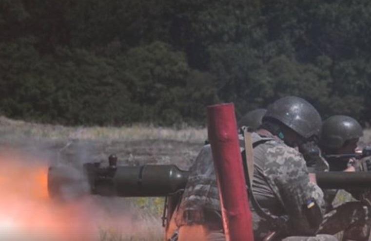 Військові закріплюють навички наведення СПГ на різні відстані / Скріншот