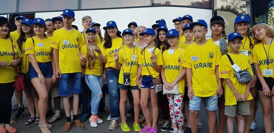 Группу детей вХорватиюповезла депутат БПП из Краматорска Лилия Кислицина / фото facebook.com/gnap.ua