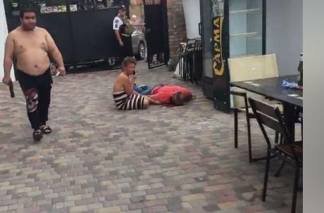 Олешко вбили пострілами в спину / Скріншот