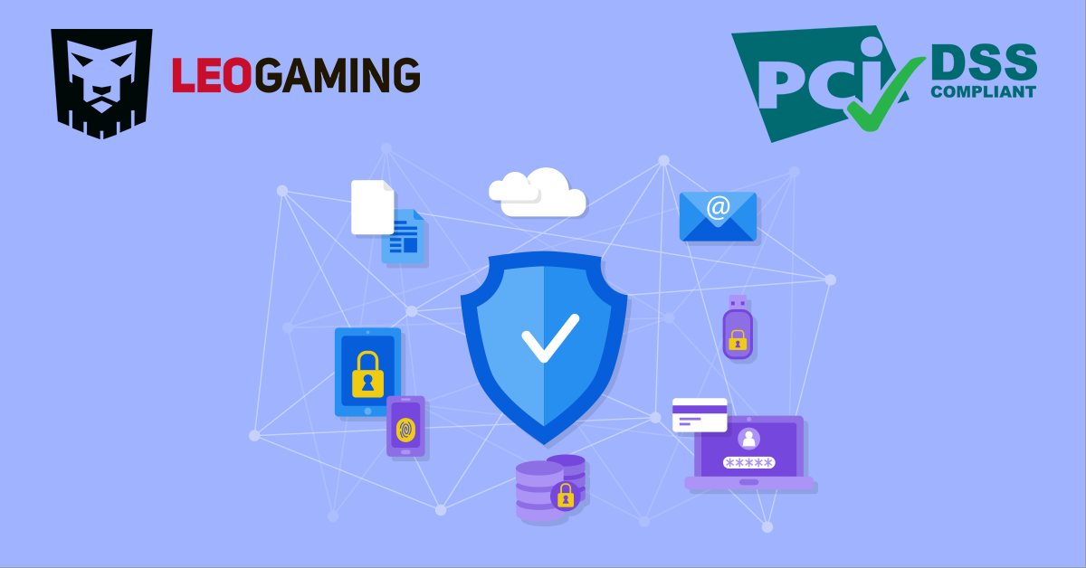 Leogaming Received A Pci Dss 32 Payment Security Certificate Unian