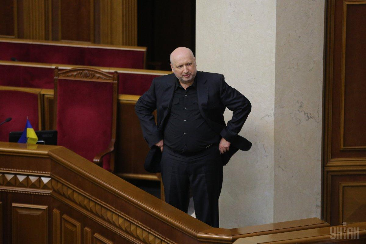 Турчинов: Россия не снимает с повестки дня военную форму давления на Украину / фото УНИАН