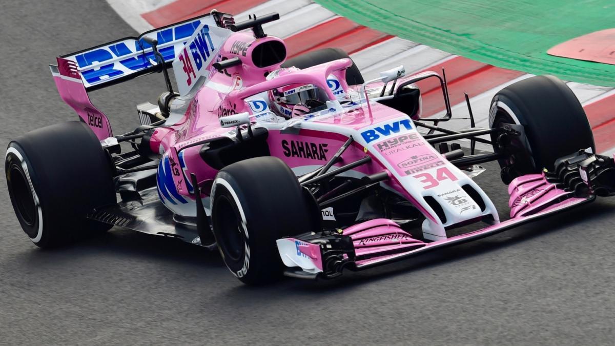 Force India перешла под внешнее управление после иска, поданного пилотом Серхио Пересом / Formula 1