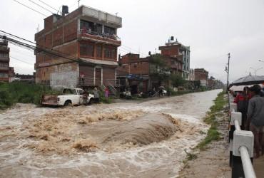 Жертвами наводнений и оползней в Непале стали 56 человек