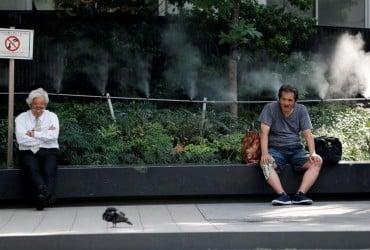 В Японии восемь человек погибли из-за жары