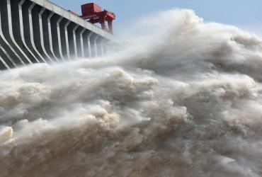 Жертвами наводнений в Китае стали 12 человек