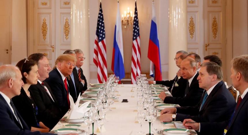 "Trump hails summit with Putin ""a very good start"" - media"