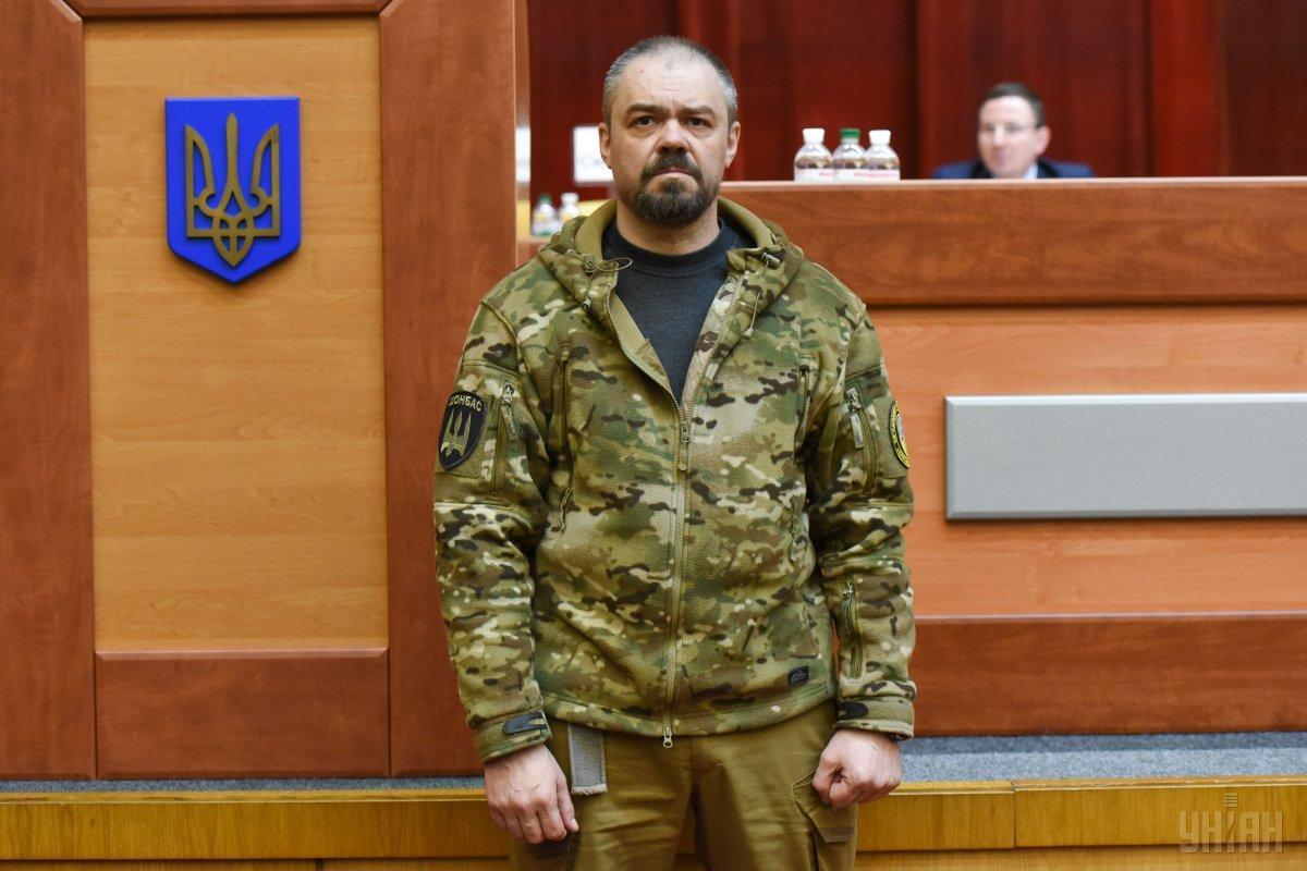 """Після вбивства Олешкабув затриманий екс-боєць """"Торнадо"""" / Фото УНІАН"""
