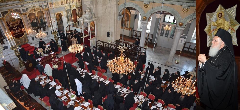 Великий Архиерейский Собор Константинопольского престола собирается раз в три года / fanarion.blogspot.com
