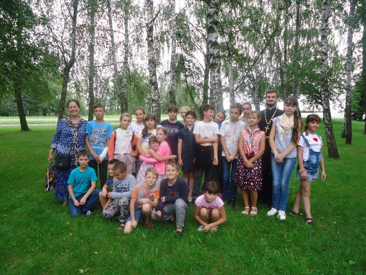 В Житомирской епархии УПЦ работал православный детский оздоровительный лагерь / zhytomyr-eparchy.org