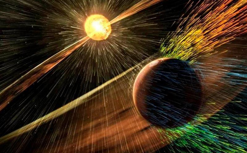 Бурі 1 класу здатні впливати на енергетичні системи, космічні апарати, наземні системи / фото geocenter.info