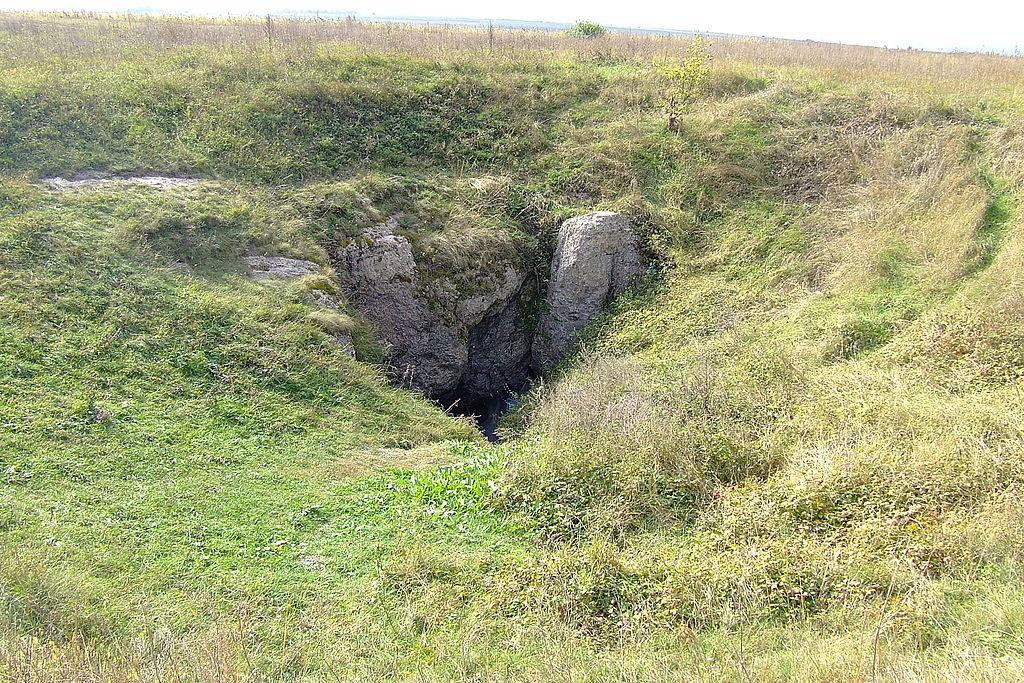 Вход в пещеру Вертеба / Фото uk.wikipedia.org