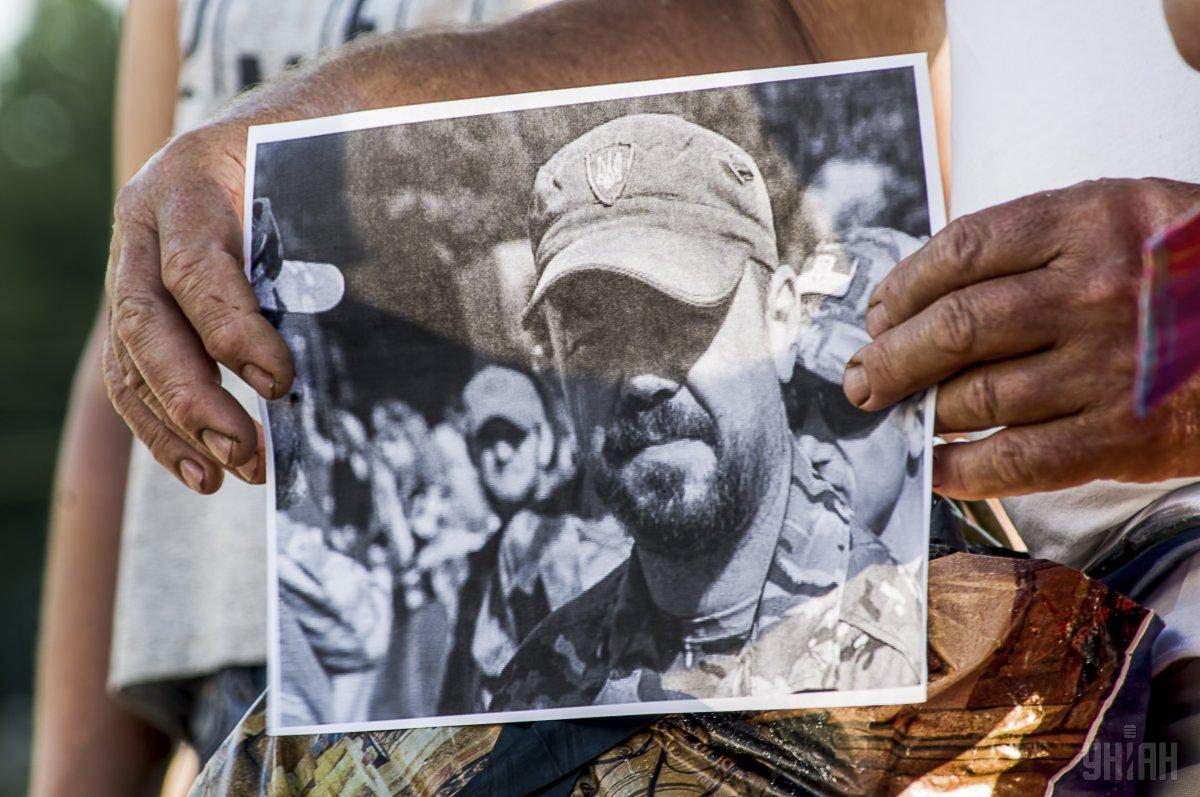 """Поліція заявила про замовний характер вбивства """"Сармата"""" \ фото УНІАН"""