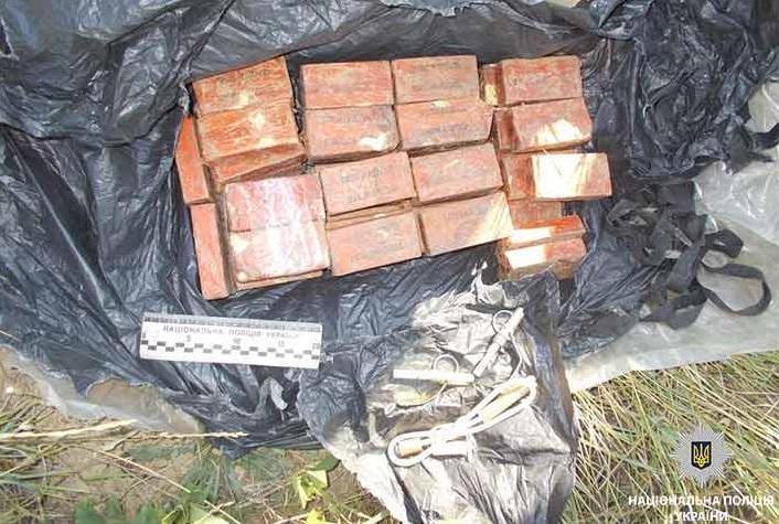 Походження виявленої вибухівки з'ясовується / фото dp.npu.gov.ua