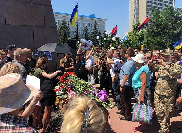 Сьогодні проходить прощання з Олешком / фото berdyansk.biz