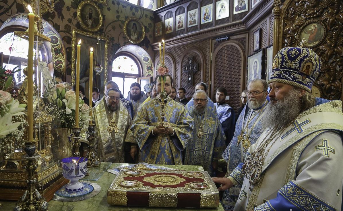 В Введенском монастыре отметили 25-летие явления иконы Богородицы «Призри на смирение» / lavra.ua