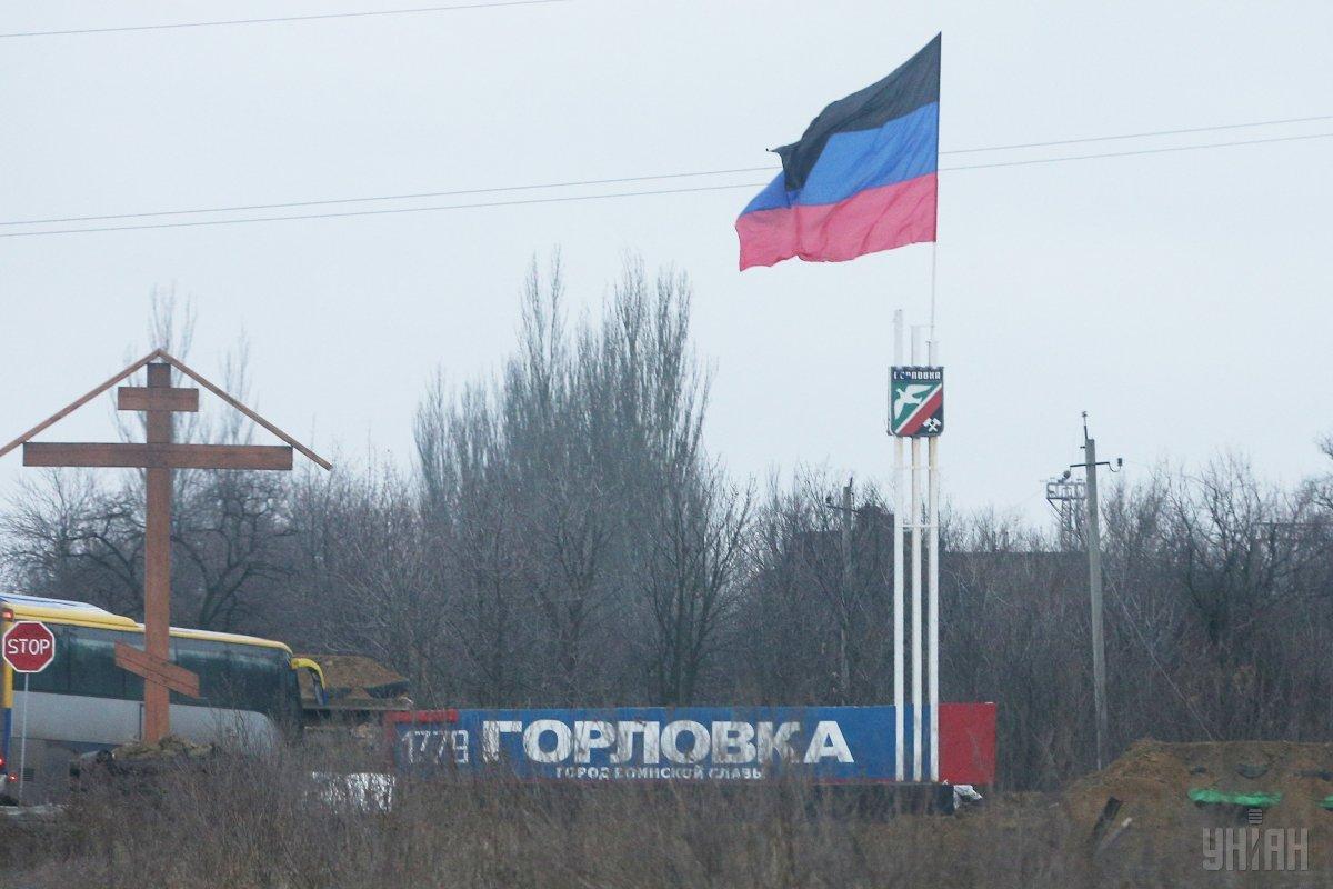 Горлівка окупована проросійськими бойовиками / фото УНІАН