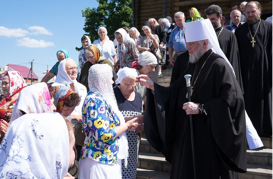 В Курске прошли торжества в честь 15-летия Собора курских святых / курская-епархия.рф